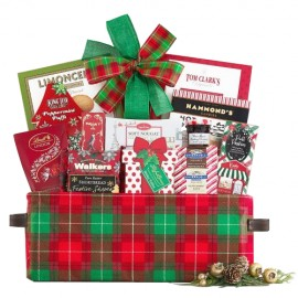 Warm Wishes for the Holidays Basket