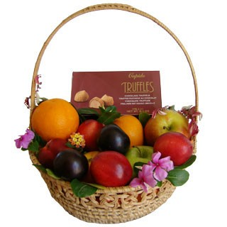 Simple Pleasures Gift Basket