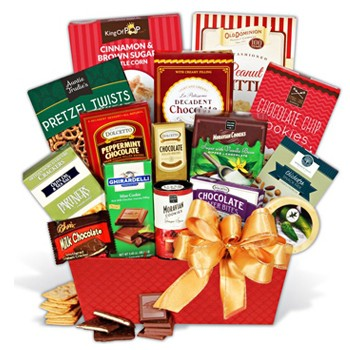 Holiday Bounty Gift Basket