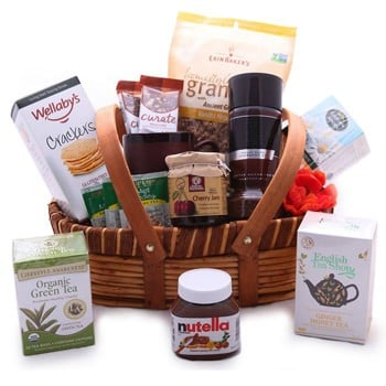 Magnificent Morning Gift Basket