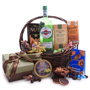 Martini and Rossi Sweet Basket