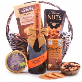 Sweet and Savory Prosecco Basket