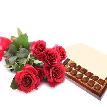 Simply Roses and Chocolates