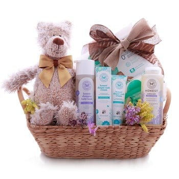 The Baby Shower Basket