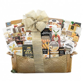 Gold Collection Gift Basket